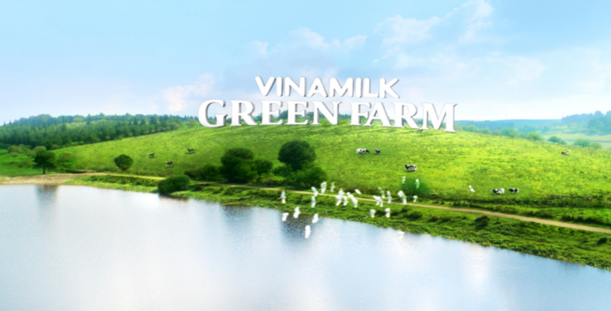 Hình ảnh Trang Trại Sinh Thái Vinamilk Green Farm.