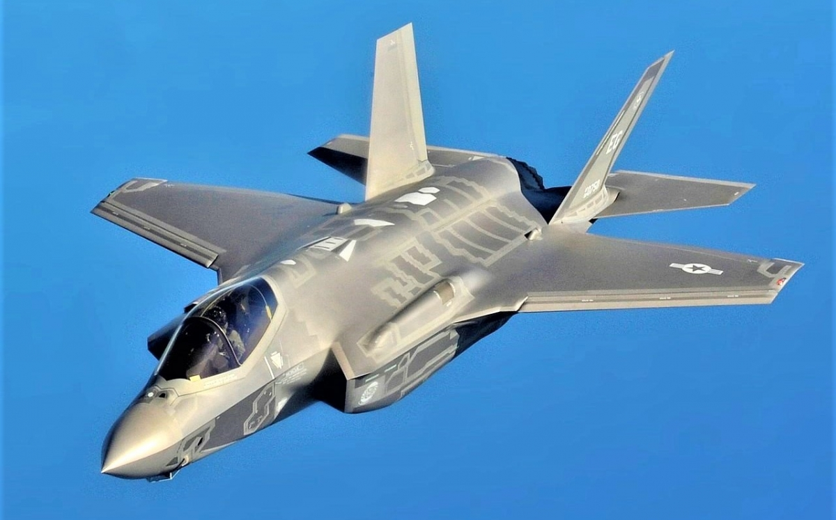 F-35A được cho sẽ trở thành một thành phần trong Bộ ba Hạt nhân Mỹ; Nguồn: wikipedia.org