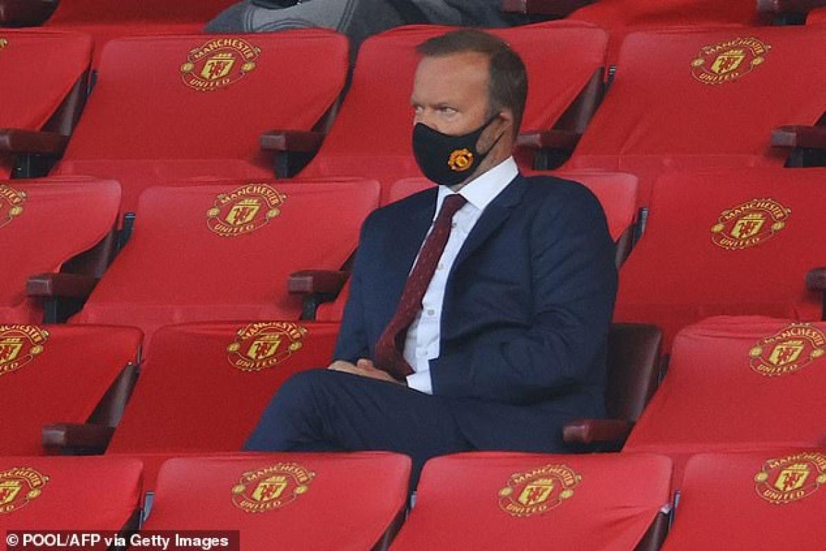 Giám đốc điều hành Ed Woodward cũng rời bỏ vai trò của mình trong Hội đồng chiến lược bóng đá chuyên nghiệp của UEFA (Ảnh: Getty).