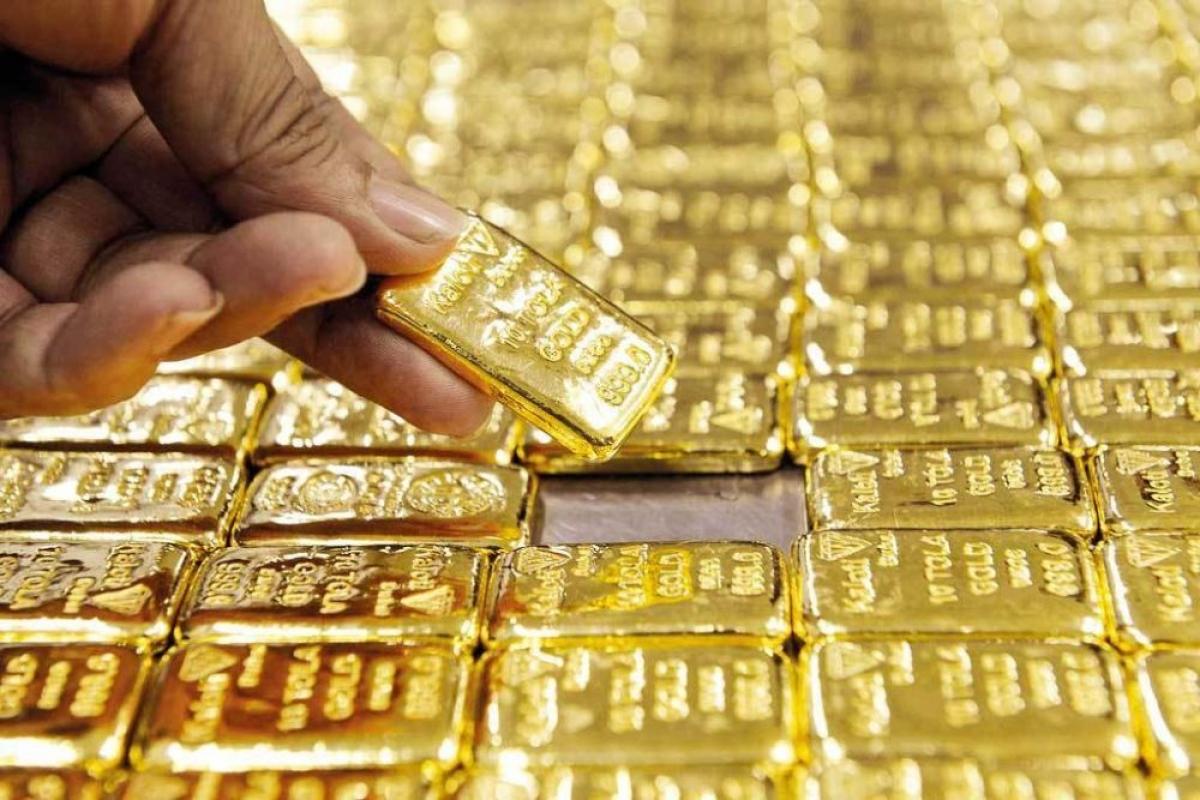 Giá vàng thế giới tăng nhẹ. (Ảnh minh họa: KT)
