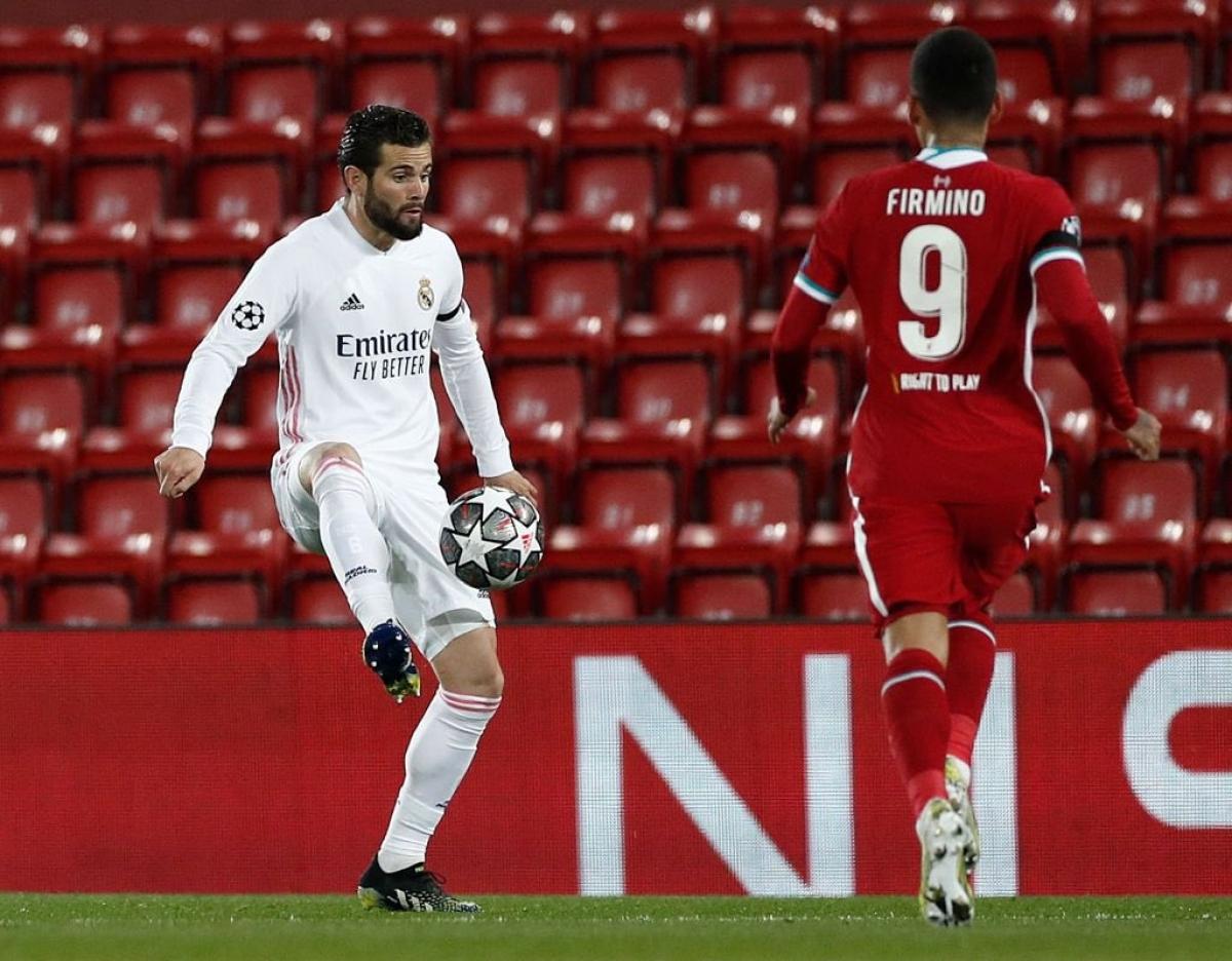 Hậu vệ: Nacho (Real Madrid) – 7,5 điểm