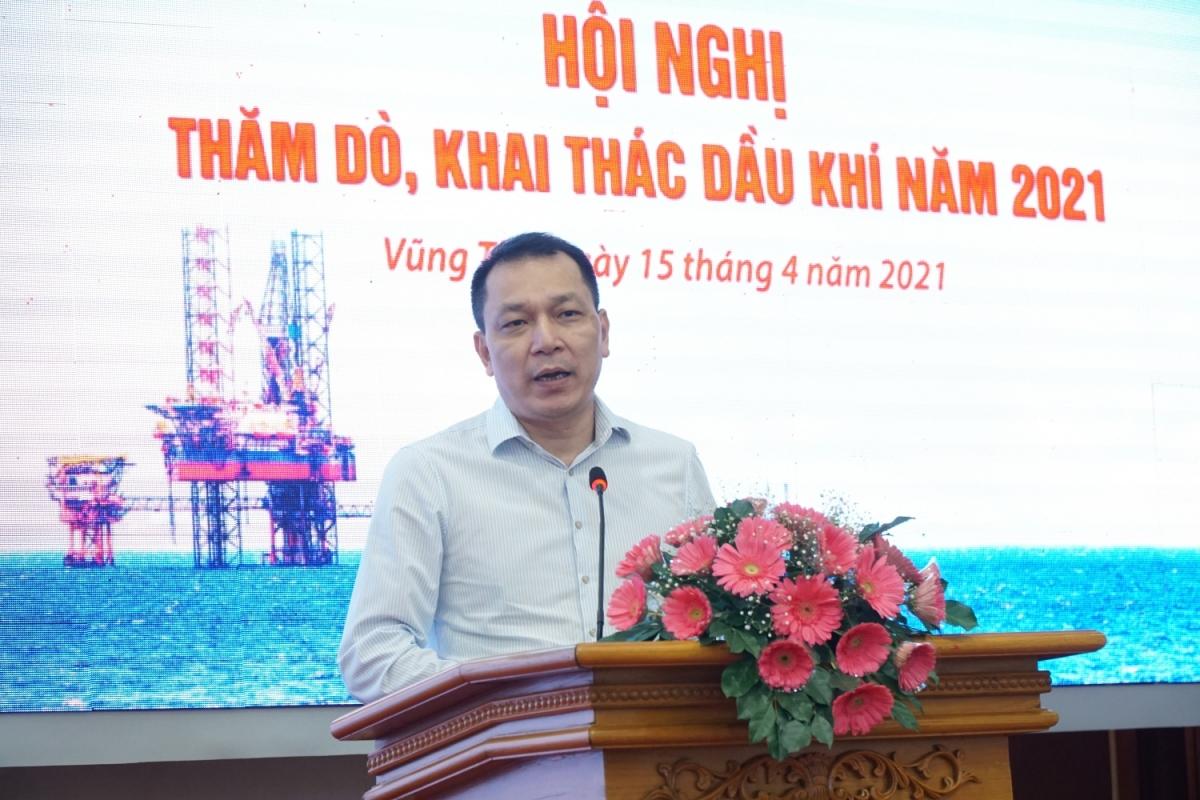 Thứ trưởng Bộ Công Thương Đặng Hoàng An phát biểu chỉ đạo tại Hội nghị.