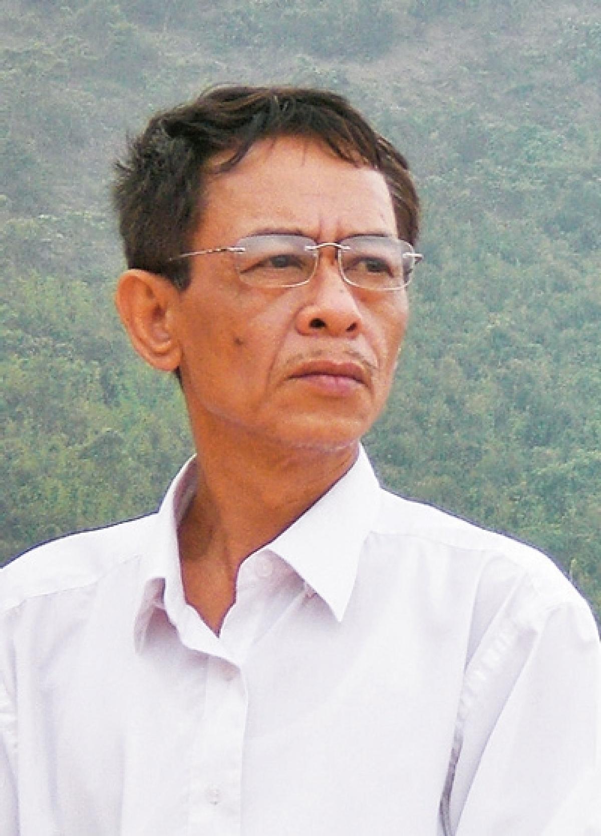 Nhà thơ Hoàng Nhuận Cầm. (Ảnh: KT)