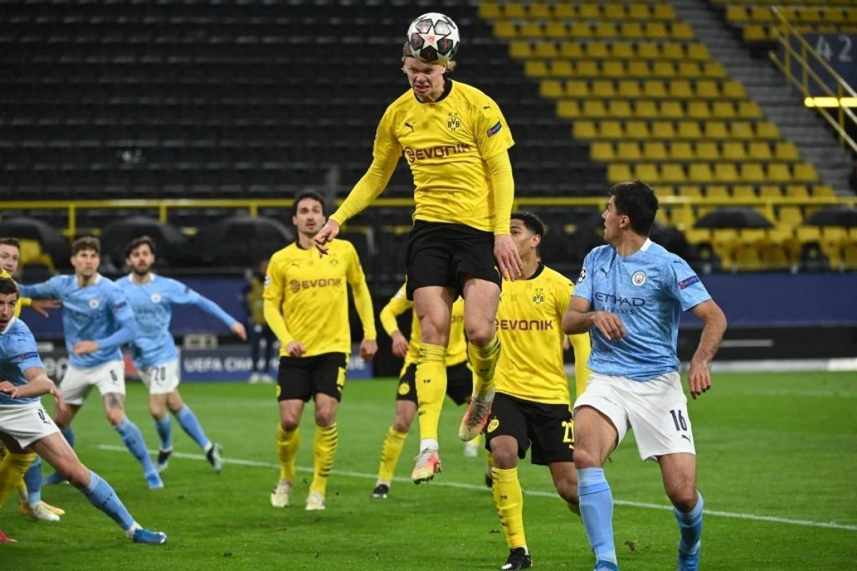 Dortmund đã chơi tốt và có bàn mở tỉ số trước (Ảnh: Getty).