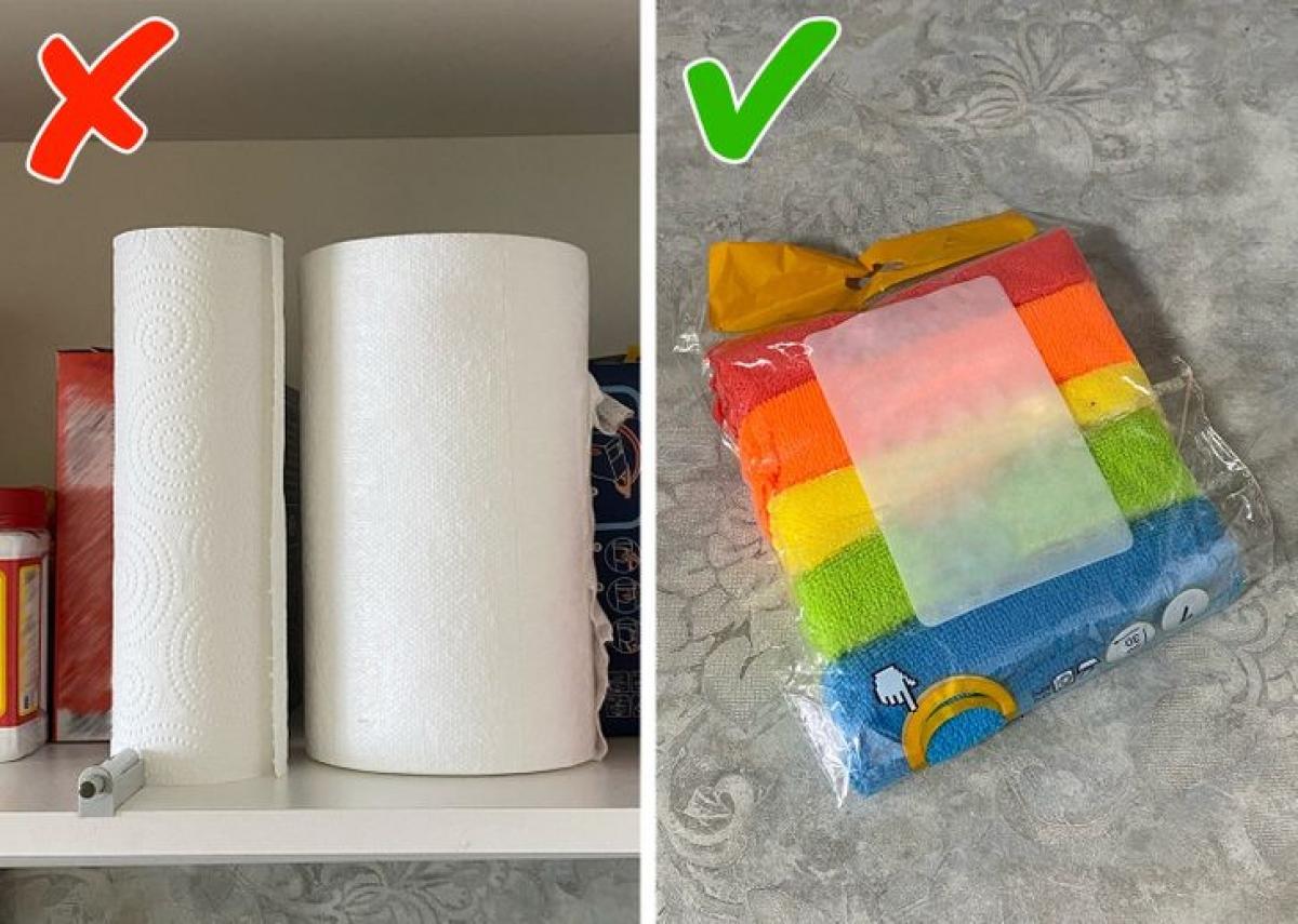 Khăn giấy có thể dễ dàng làm sạch các bề mặt, tuy nhiên không phải là lựa chọn tiết kiệm tiền. Hãy sử dụng các loại khăn vải sợi mềm mại giúp bạn giặt đi giặt lại để tái sử dụng một cách dễ dàng.