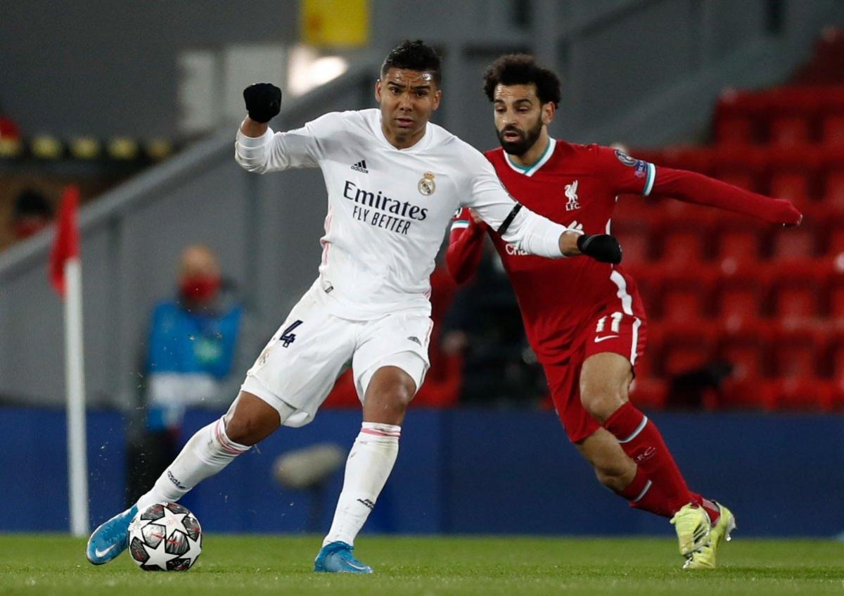 Tiền vệ: Casemiro (Real Madrid) – 7,5 điểm