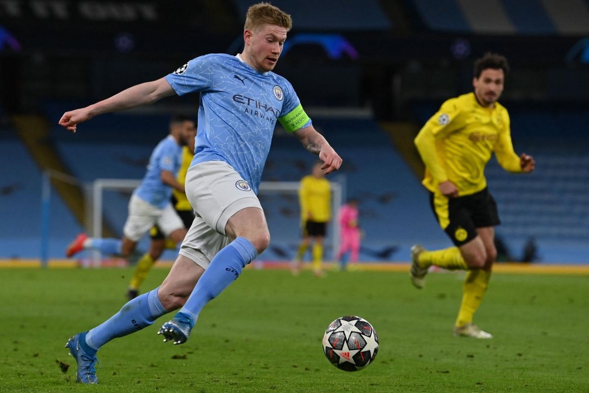 Tiền vệ: Kevin De Bruyne (Man City) – 8 điểm