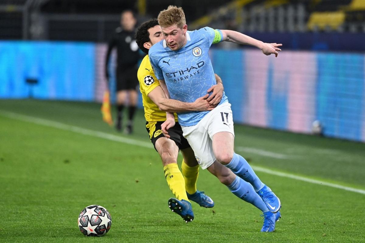 Tiền vệ: Kevin De Bruyne (Man City) – 8,0 điểm