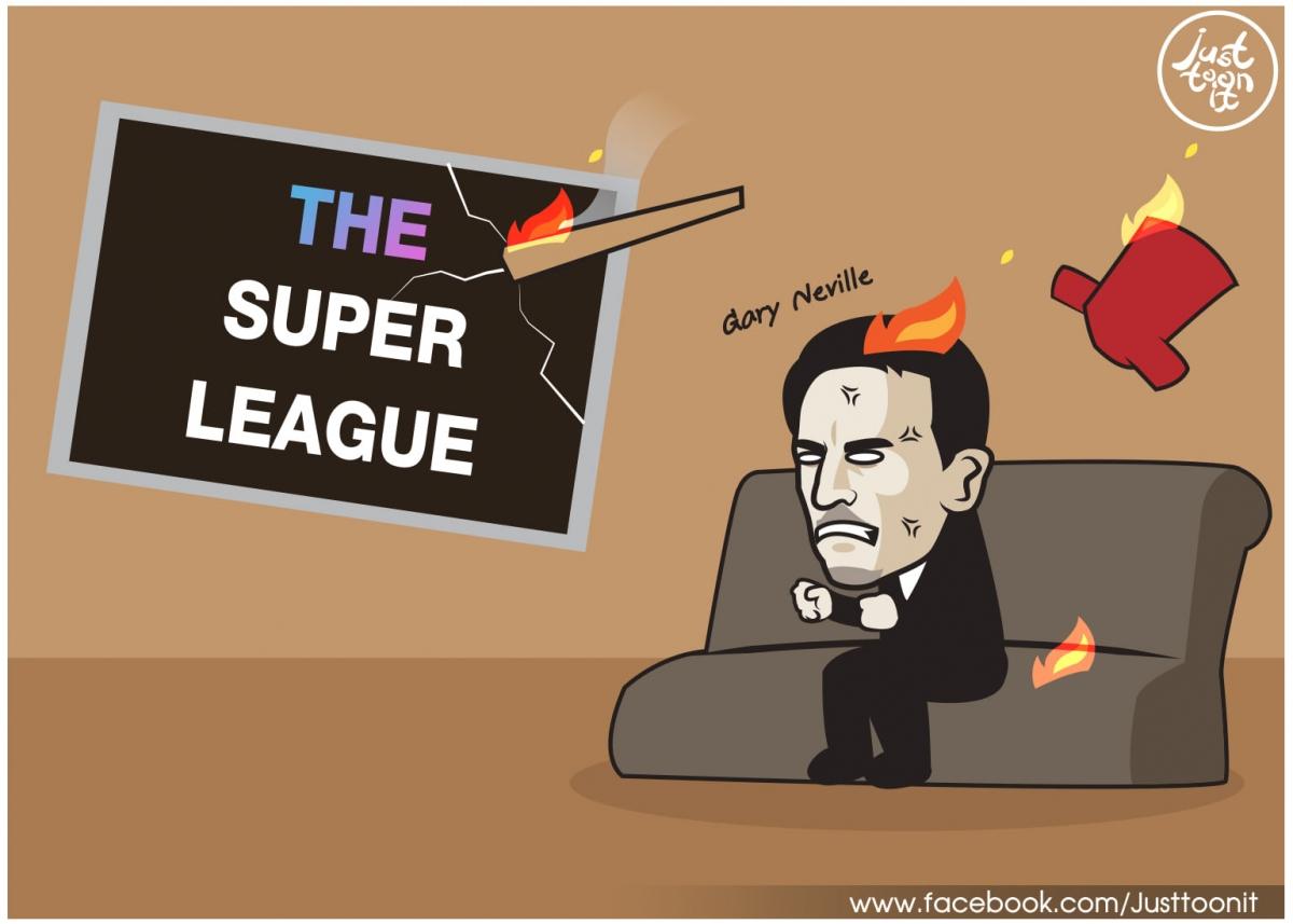 Gary Neville phản đối kịch liệtEuropean Super.