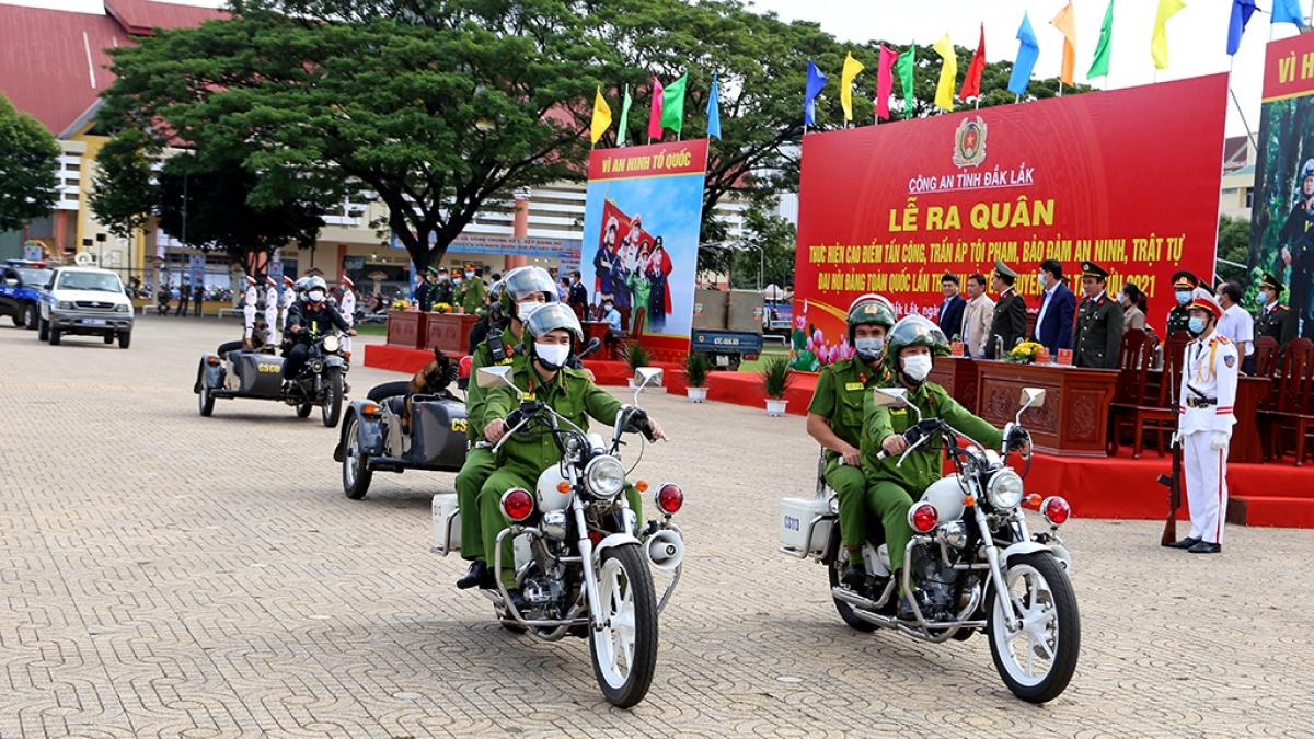 Công an Đắk Lắk mở đợt cao điểm tấn công, trấn áp tội phạm.