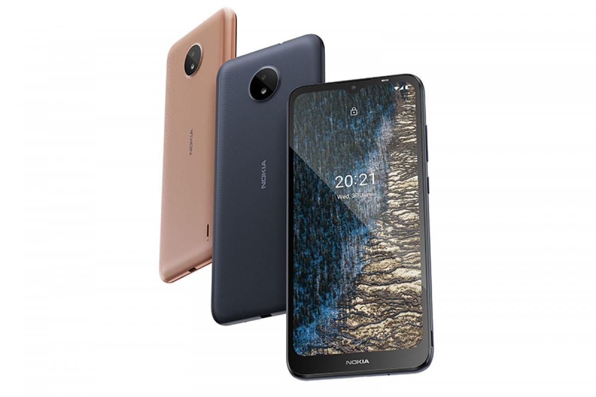 Nokia C10 và C20.