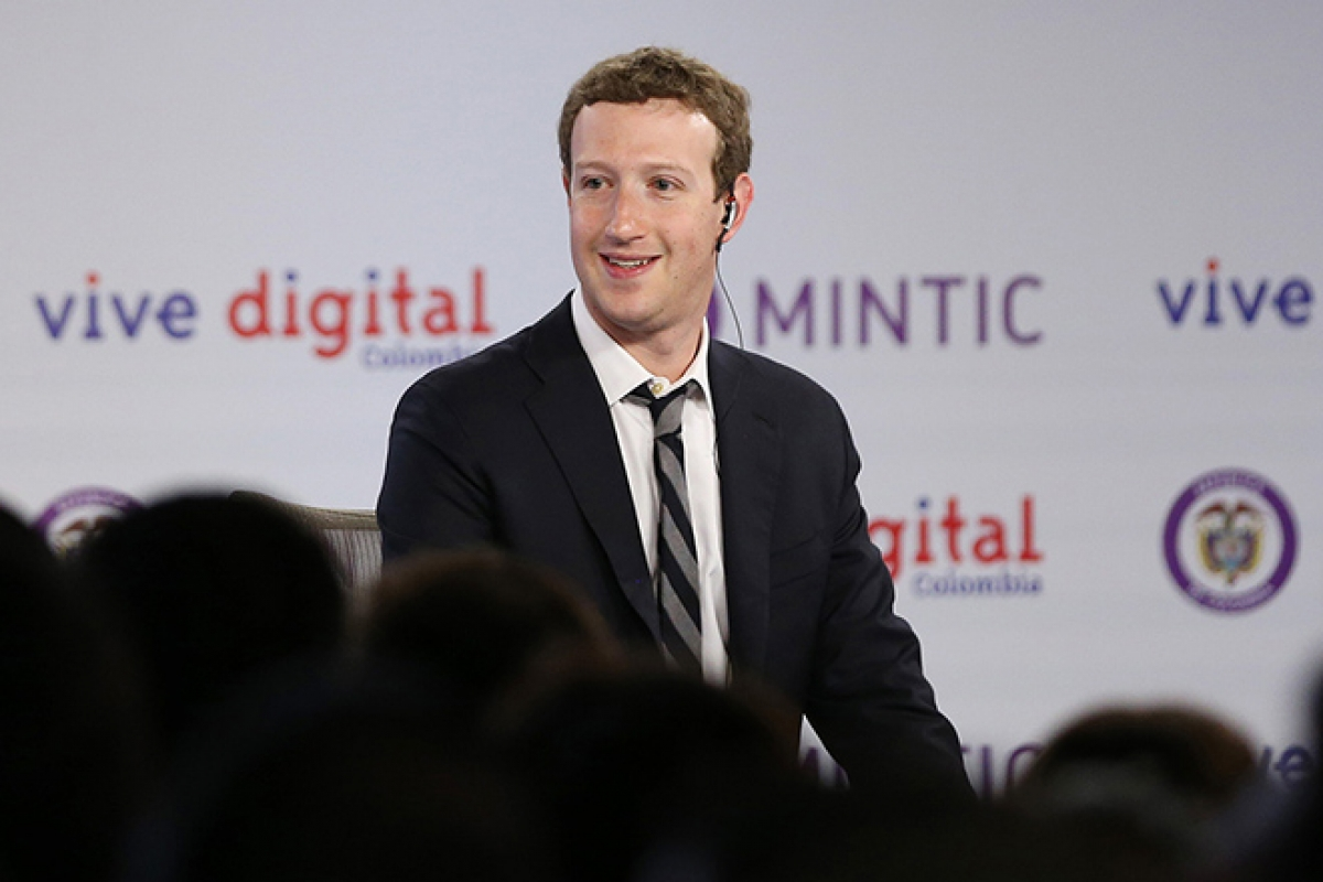 Mark Zuckerberg chỉ nhận lương 1 USD trong cả năm tại Facebook.