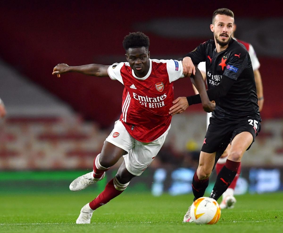 Tiền vệ: Bukayo Saka (Arsenal) – 7,3 điểm