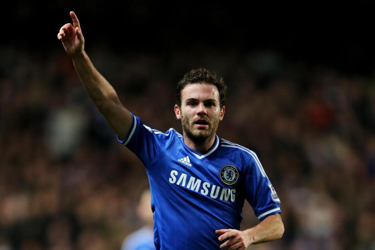 Tiền vệ: Juan Mata (Chelsea)