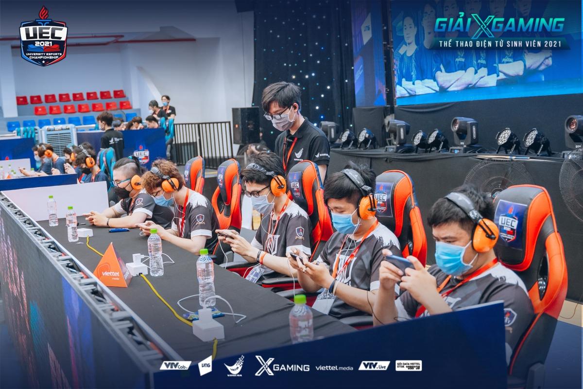 Hình ảnh trong ngày thi đấu cuối cùng UEC 2021.