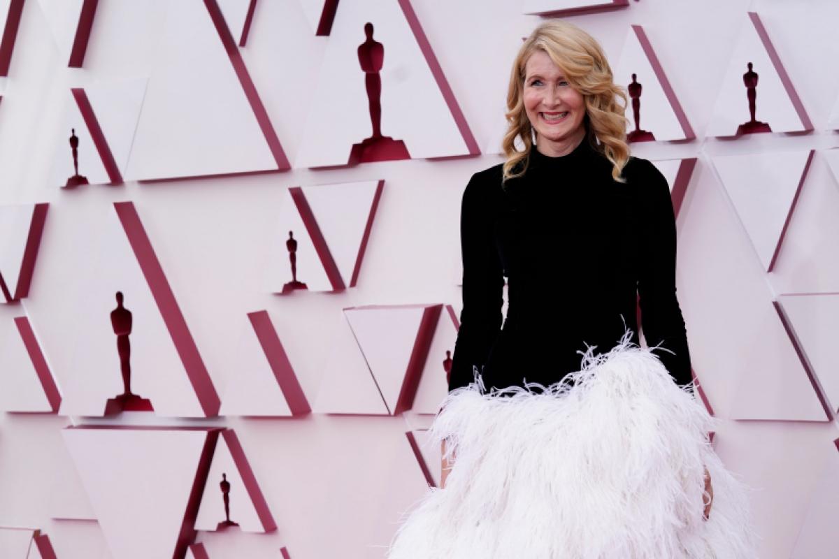 """Lễ trao giải Oscar 2021 không thể thiếu những người công bố giải thưởng năm nay. Nữ diễn viên Laura Dern, người chiến thắng giải thưởng """"Nữ diễn viên phụ xuất sắc nhất"""" năm ngoái, sẽ trao giải Oscar cho """"Nam diễn viên phụ xuất sắc nhất"""" vào tối nay."""