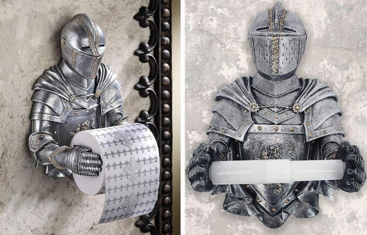 Nhà vệ sinh của bạn sẽ vô cùng ấn tượng và độc đáo nhờ sản phẩm thanh để giấy vệ sinh này.