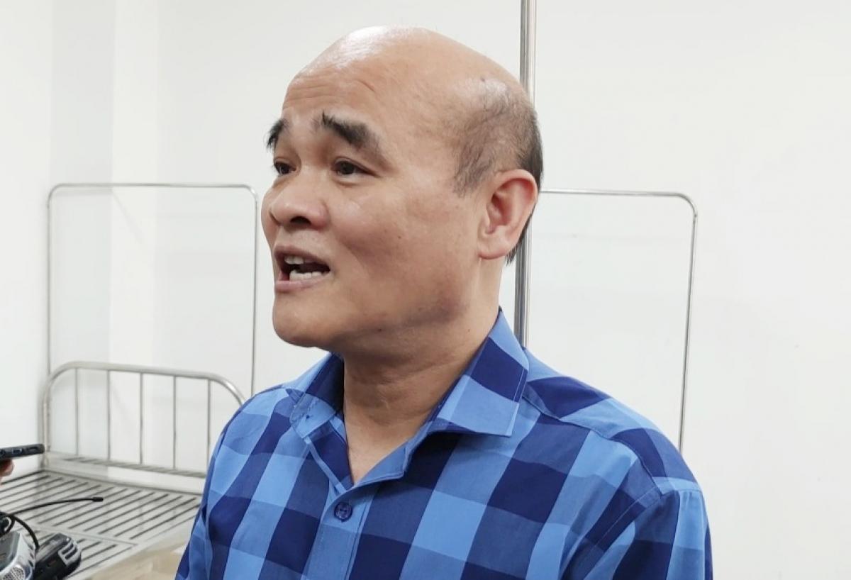 Ông Nguyễn Huy Quang, Vụ trưởng Vụ Pháp chế, Bộ Y tế