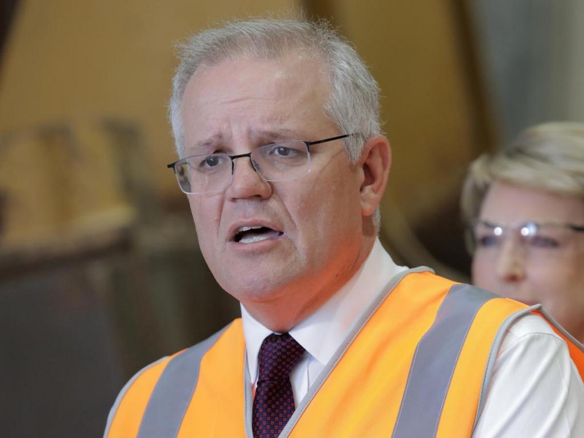 Thủ tướng Scott Morission tuyên bố Australia sẽ sớm nới lỏng hạn chế xuất nhập cảnh đối với công dân nước này. Ảnh: Philip Gostelow