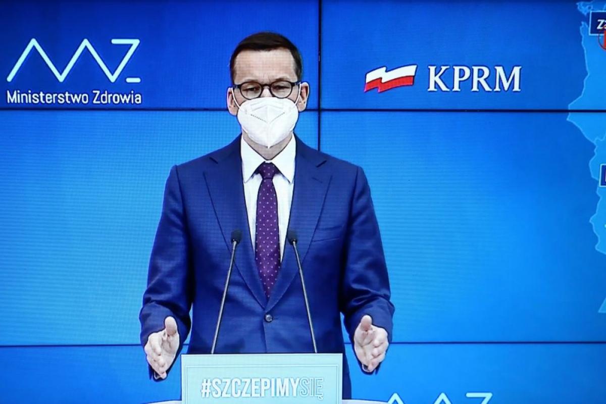 Thủ tướng Ba Lan Mateusz Morawiecki. Ảnh: thefirstnews