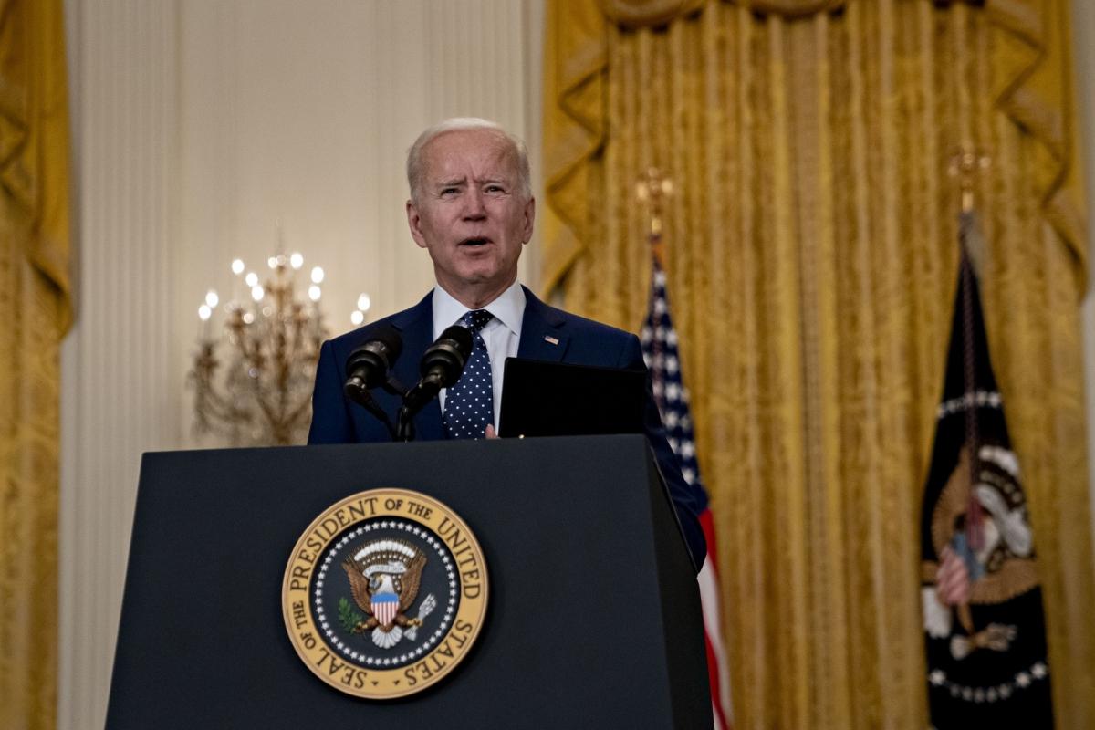 Tổng thống Biden. Ảnh: Bloomberg