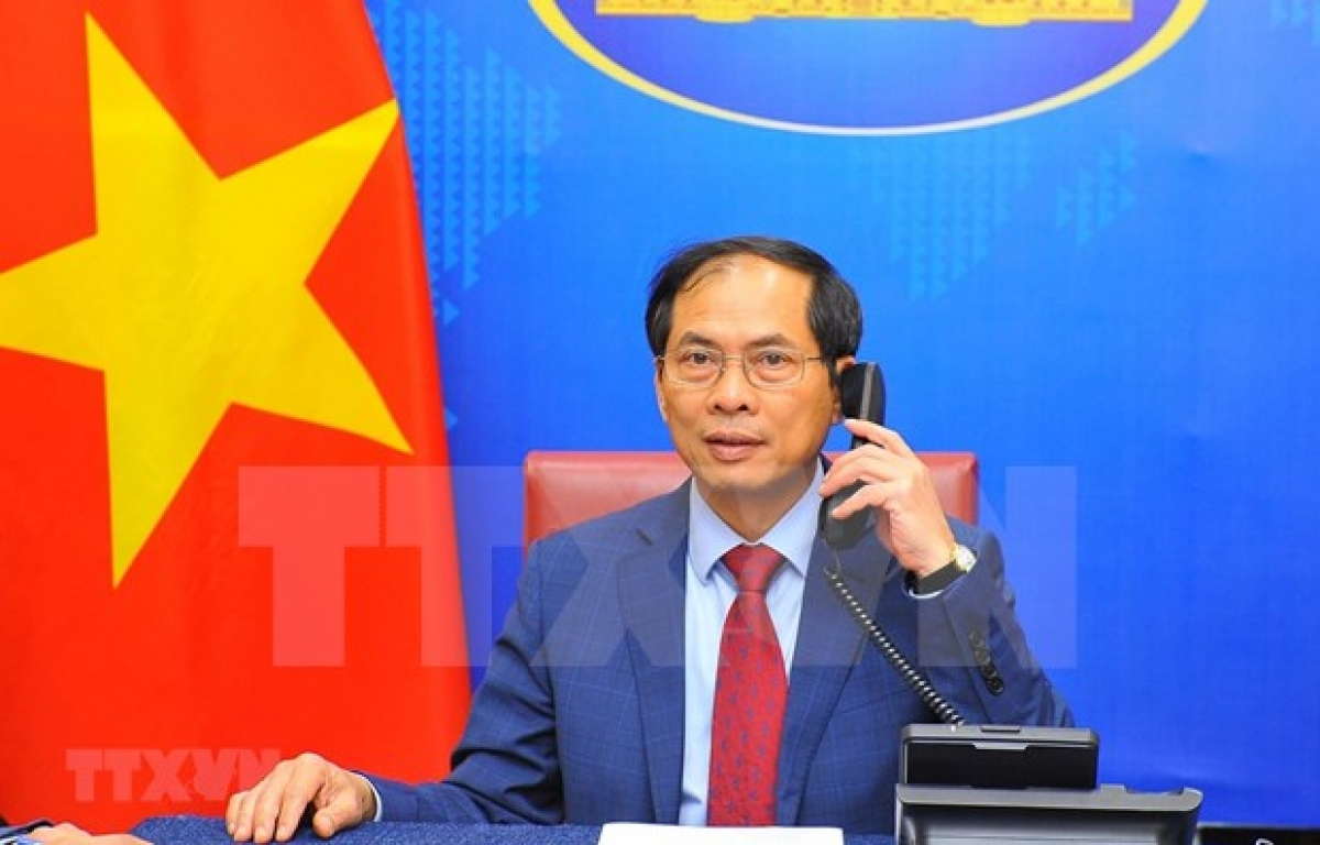 Foreign Minister Bui Thanh Son (Photo: VNA)