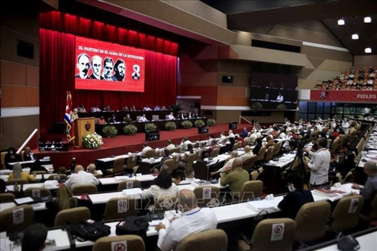 The eighth National Congress of the Communist Party of Cuba Central Committee has elected a new leadership. (Photo: AFP)