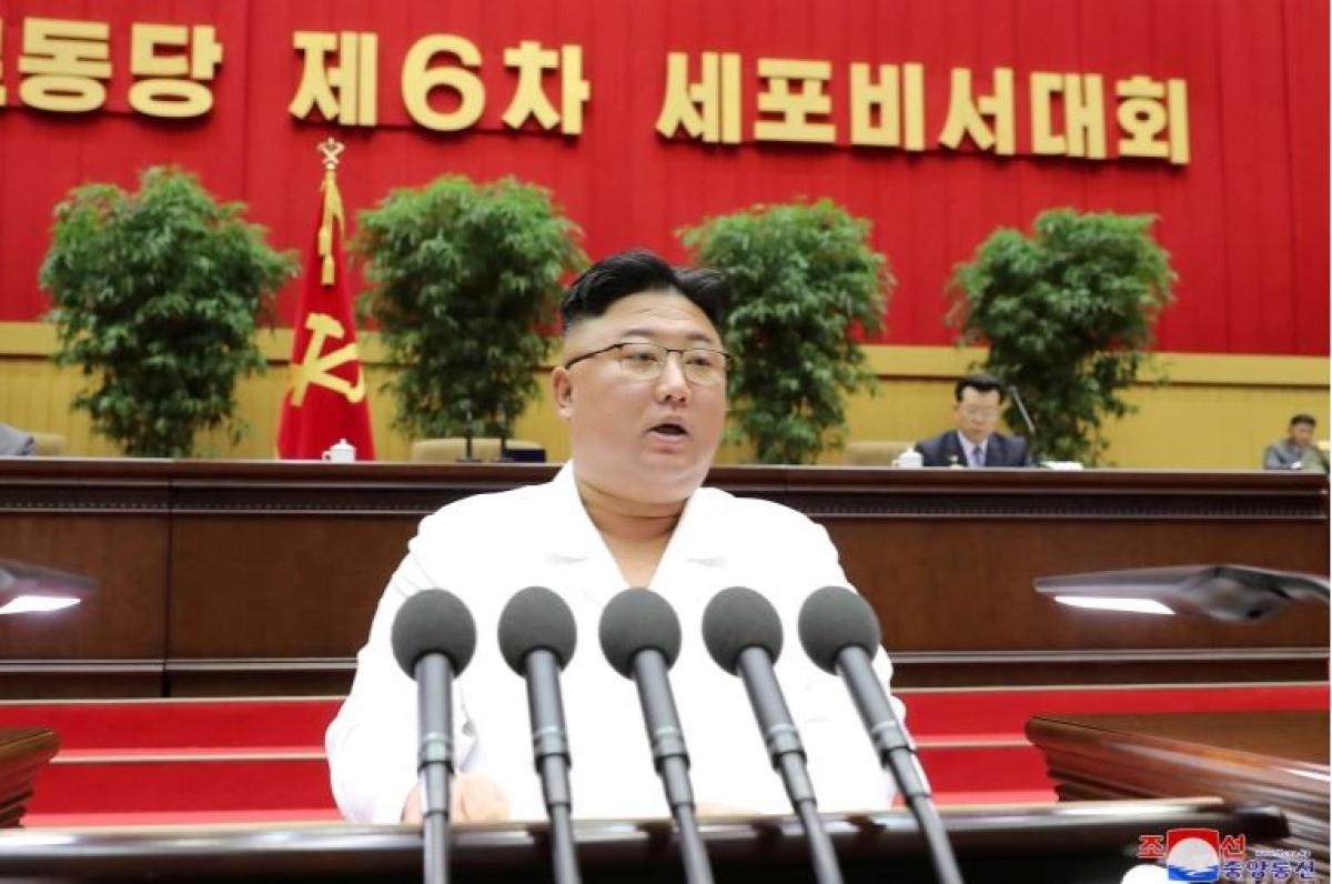 Nhà lãnh đạo Triều Tiên Kim Jong Un. Ảnh: Reuters