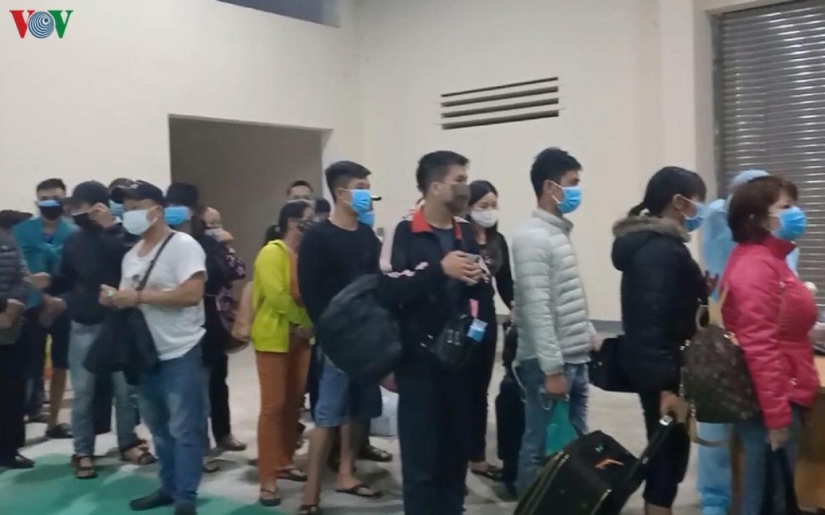 Công dân Việt Nam tại Lào trong một lần về nước trước đây.