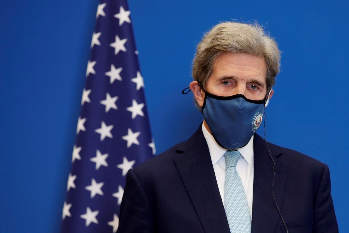 Đặc phái viên Tổng thống Mỹ về khí hậu John Kerry. Ảnh: Reuters