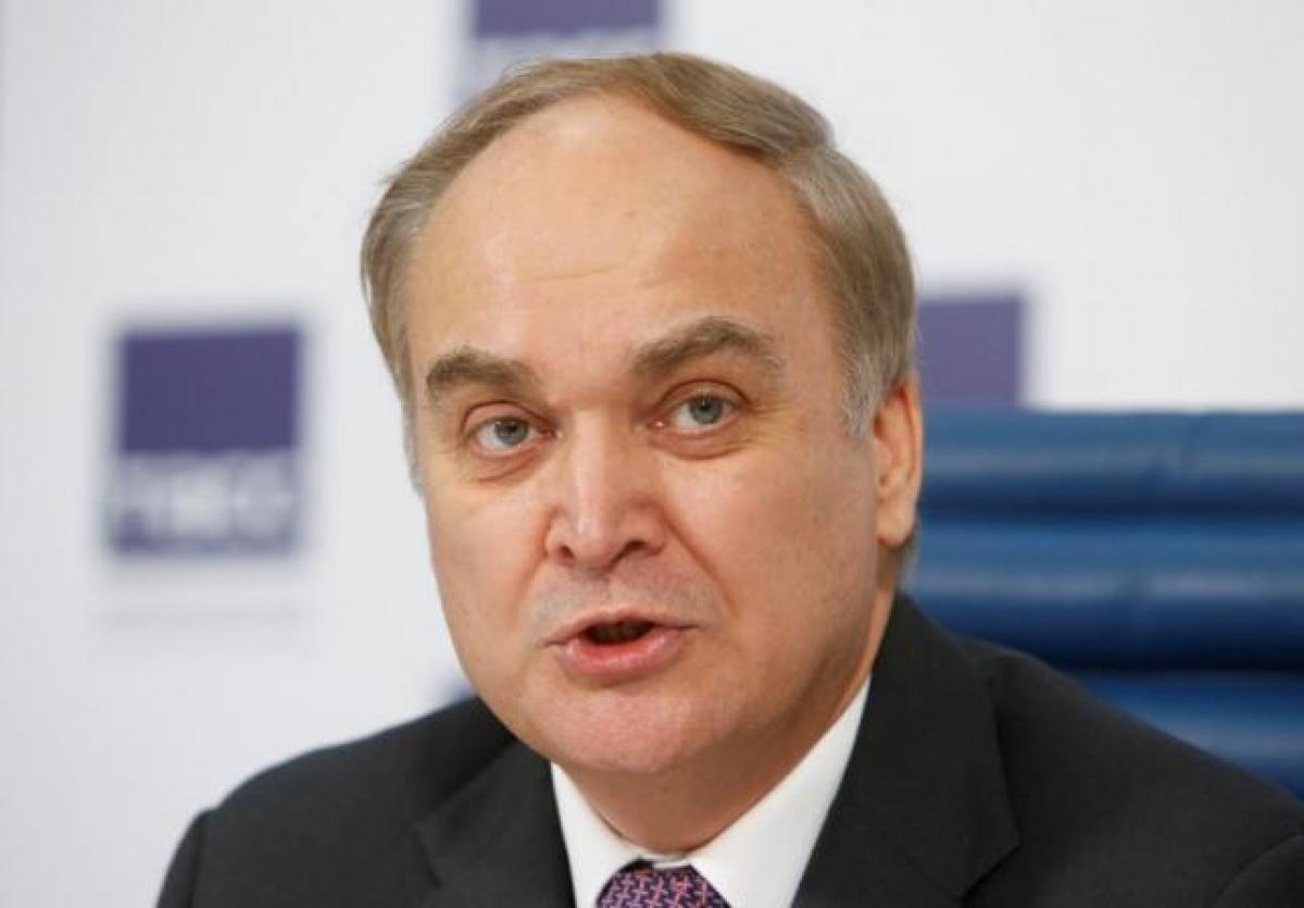 Đại sứ Nga tại Mỹ Anatoly Antonov. Ảnh: Reuters