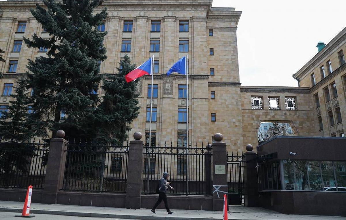 Đại sứ quán Cộng hòa Séc tại Moscow. Ảnh: Tass