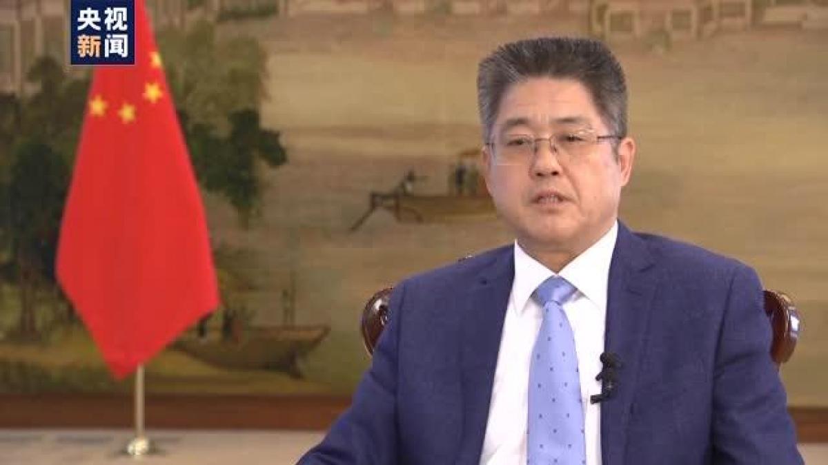 Ông Lạc Ngọc Thành, Thứ trưởng Ngoại giao Trung Quốc. Ảnh: CCTV