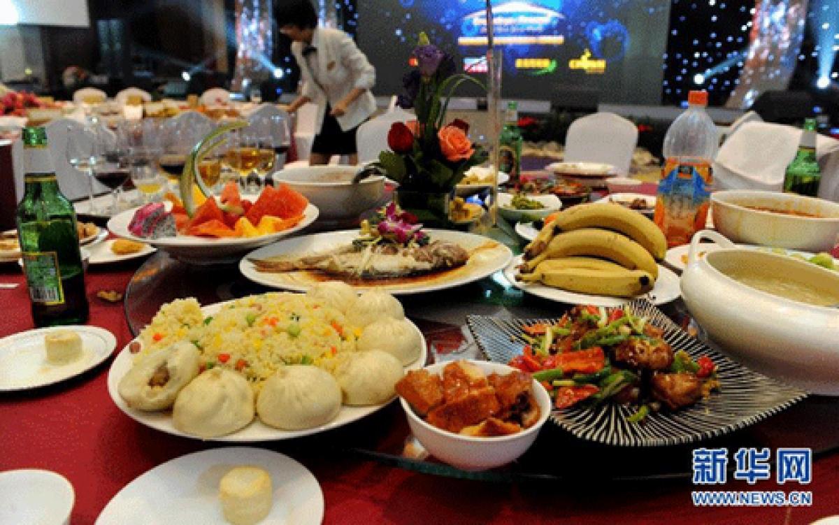 Trung Quốc quyết tâm dùng luật để ngăn chặn hành vi lãnh phí thực phẩm. Ảnh: Tân Hoa Xã