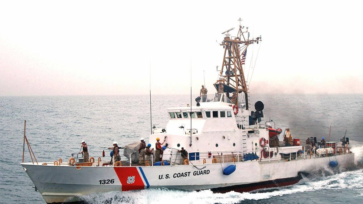 Tàu của lực lượng bảo vệ bờ biển Mỹ. Ảnh: Wikipedia