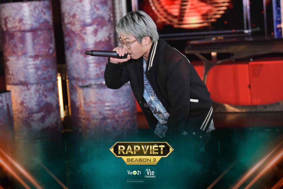 """Rich Choi - Á quân """"King of Rap"""" """"đốt cháy"""" sân khấu casting."""