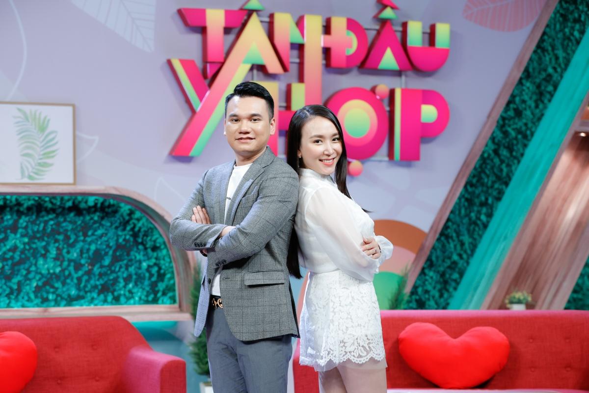 Khắc Việt và vợ - DJ Thanh Thảo.