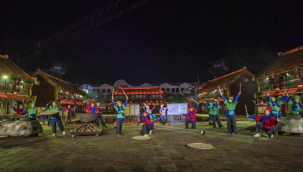 Tái hiện các điển tích lịch sử truyền thống của Việt Nam nhiều nhất.