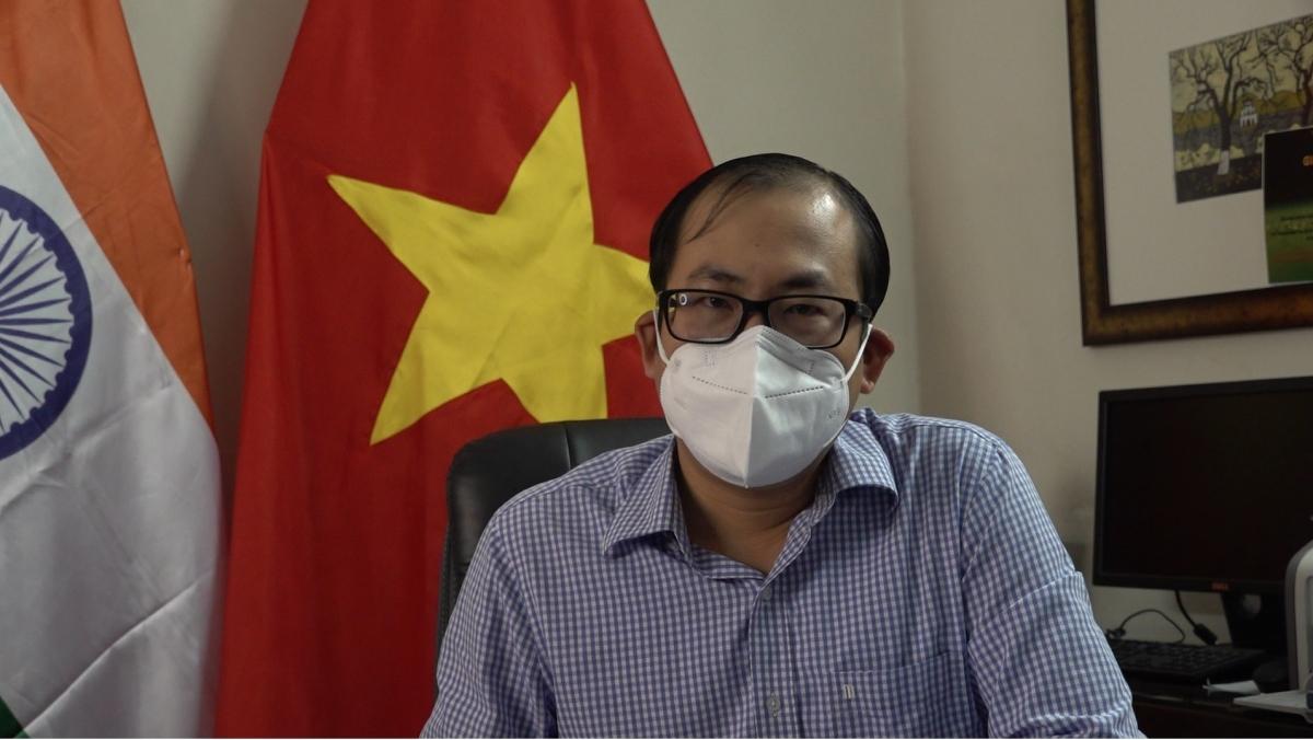Ông Đỗ Thanh Hải - Tham tán Đại sứ quán Việt Nam tại Ấn Độ.