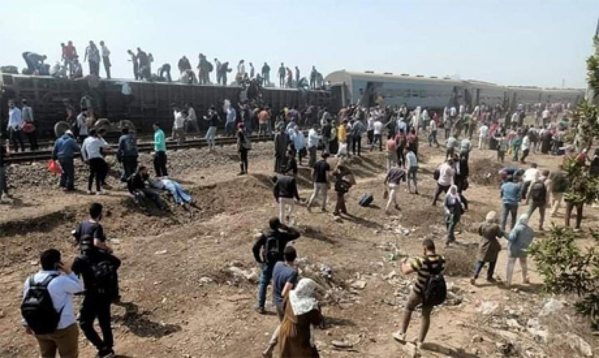 Ai Cập bắt giữ 23 người liên quan tới vụ tàu tai nạn. Ảnh: Ahramonline
