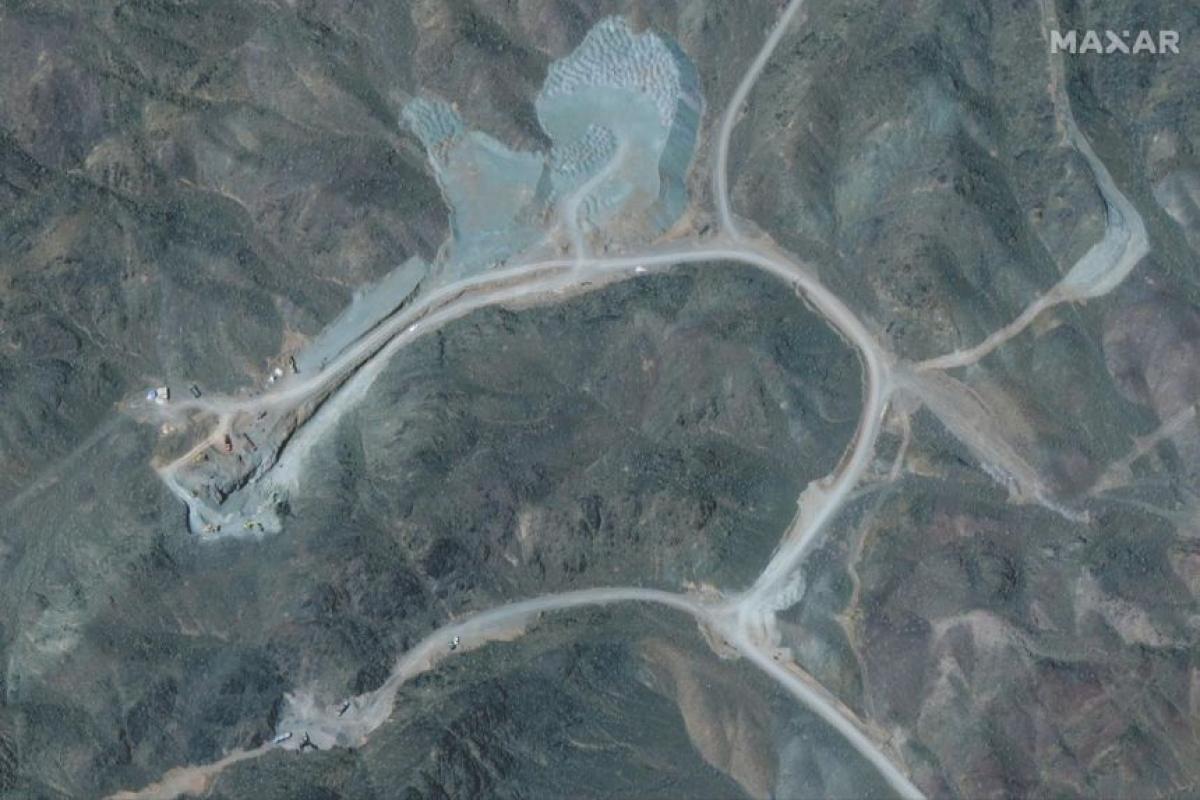Hình ảnh vệ tinh của cơ sở hạt nhân Natanz. Ảnh: Reuters