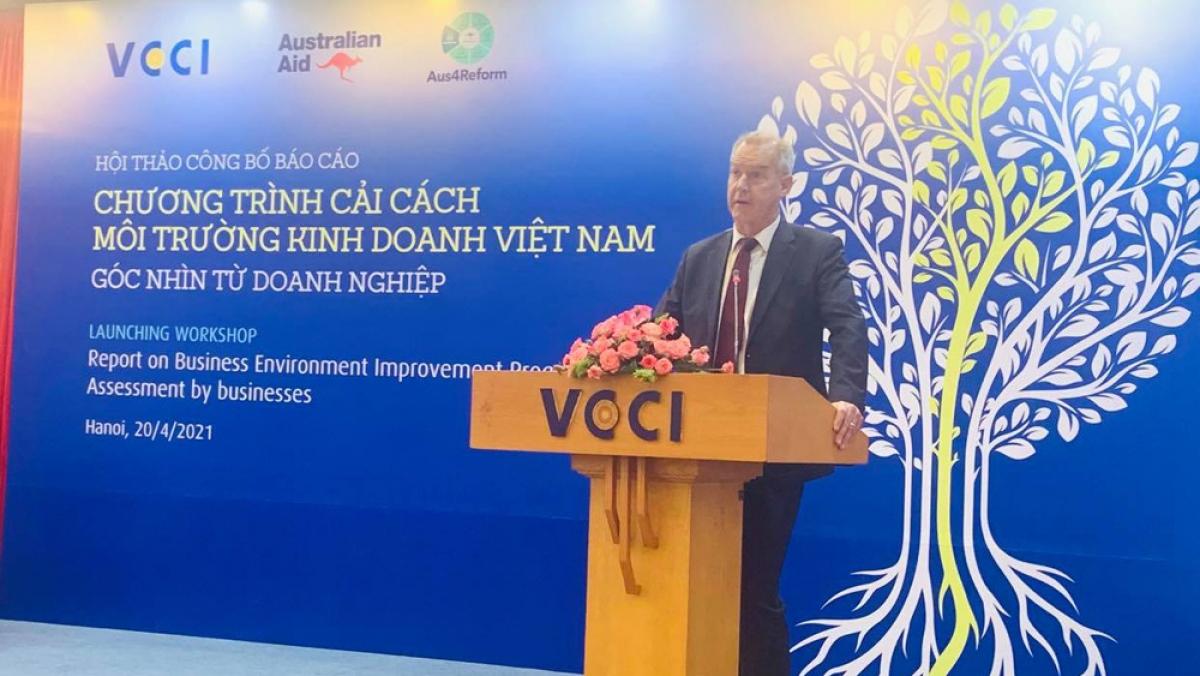 Ông Andrew Barnes, Phó Đại sứ Australia tại Việt Nam