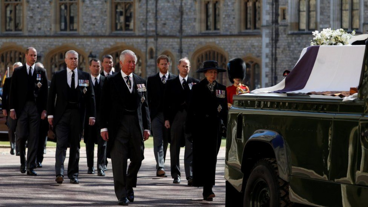 Nước Anh cử hành tang lễ cho Hoàng thân Philip. Ảnh: BBC