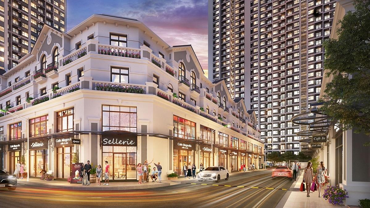 Gateway Tower toạ lạc tại tâm điểm phồn hoa Sapphire 2 - phân khu sở hữu shop downtown thời thượng và shop khối đế sầm uất phục vụ mọi nhu cầu mua sắm-ẩm thực-giải trí của khách thuê.
