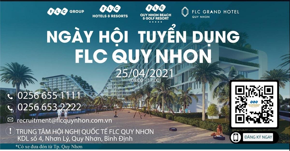Ngày hội tuyển dụng FLC Quy Nhơn diễn ra trong ngày 25/4/2021