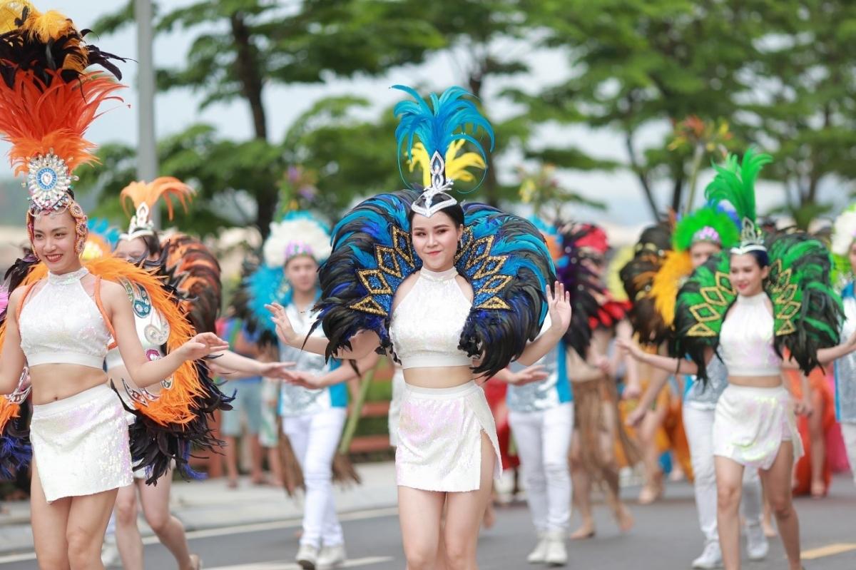 Trình diễn Carnaval tại FLC Hạ Long năm 2019
