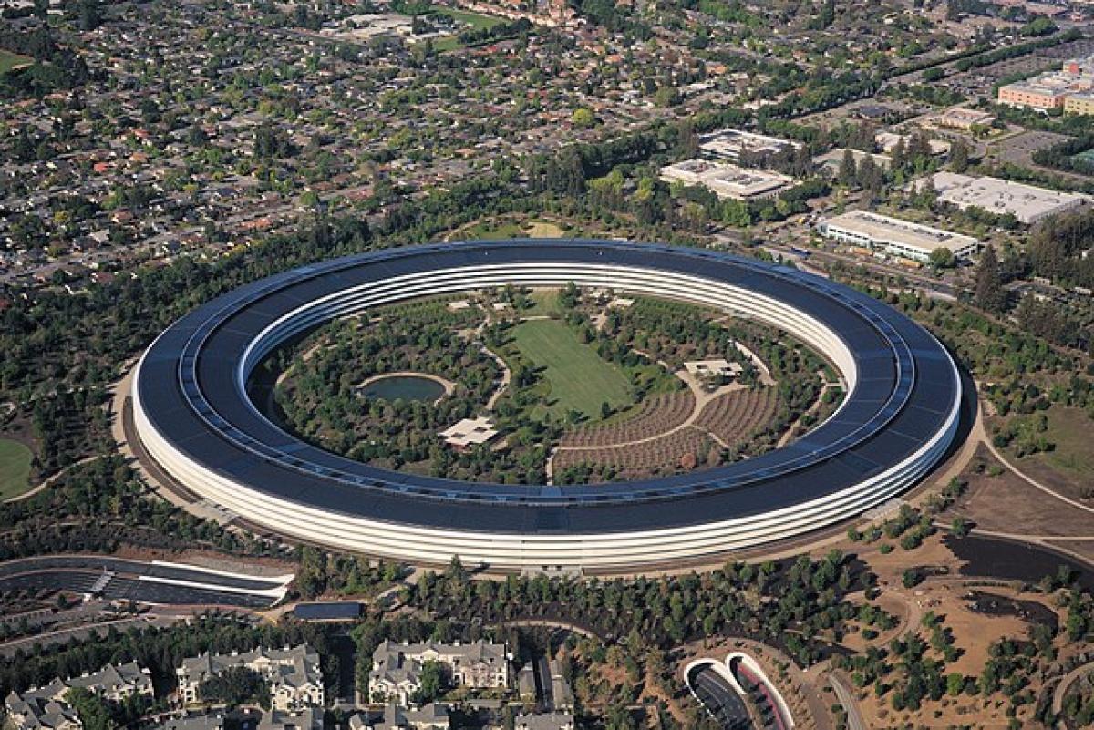 Dù không được đánh giá cao về kiến trúc nhưng Apple Park lại là một trong những cấu trúc tiết kiệm năng lượng nhất thế giới.