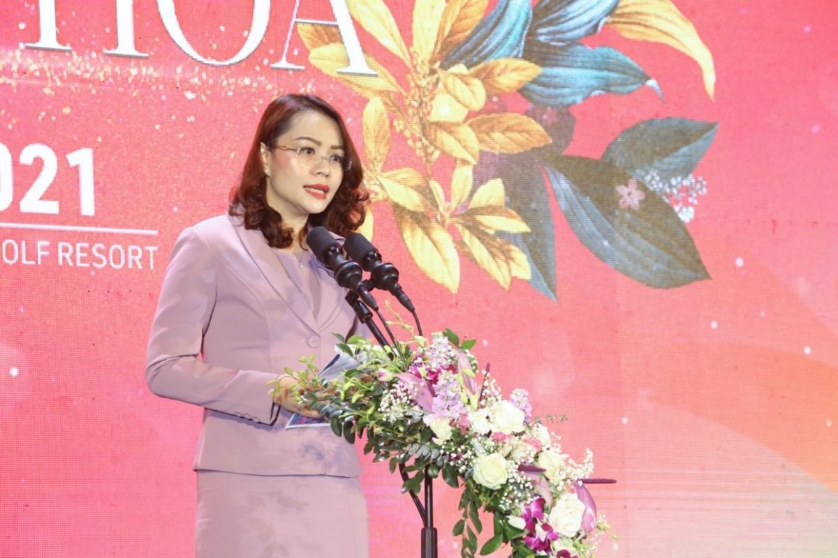Bà Hương Trần Kiều Dung, Phó Chủ tịch thường trực Tập đoàn FLC