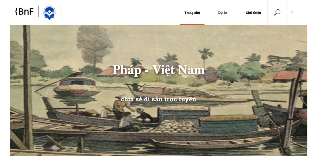 Thư viện số Hoa phượng vỹ chia sẻ di sản trực tuyến.