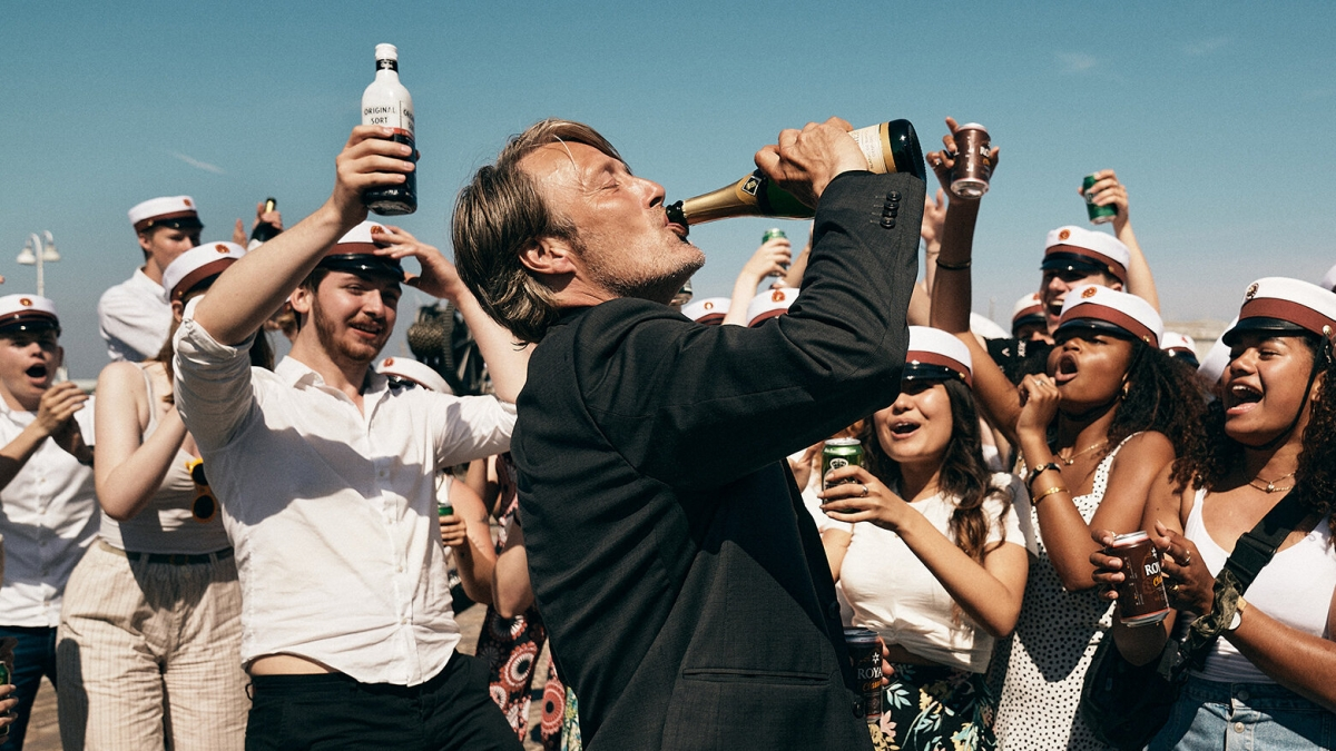 """Bộ phim """"Another round"""" của Đan Mạch khó có thể bị đánh bại."""